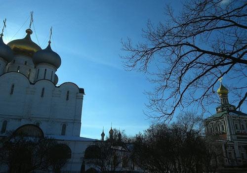 Чистое небо Новодевичьего
