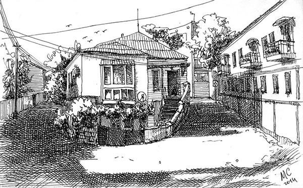 Улица в Балаклаве. Сергей Меркулов