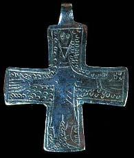 Крестик викингов 10-11 вв.