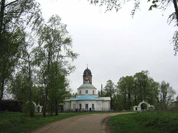 боголюбская церковь в с. великом 2008 год