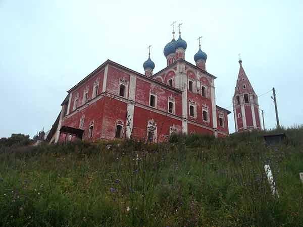казанская церковь в романове-борисоглебске 2015 год