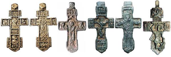 кресты XV-XVI вв