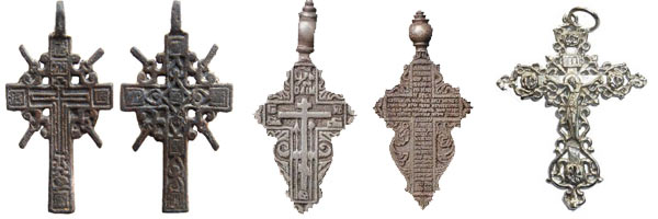 тельные кресты XVIII-XIX вв