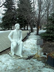 памятник Пушкину в Музеоне